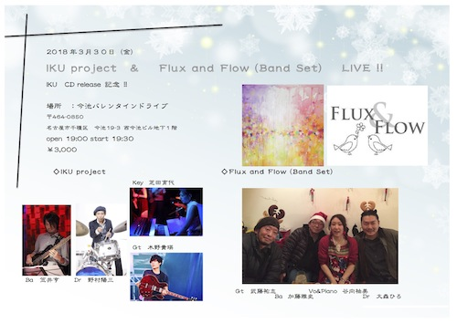 IKU project & Flux and Flow